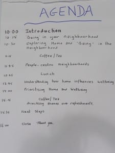 Agenda for the second workshop, 8 July 2014