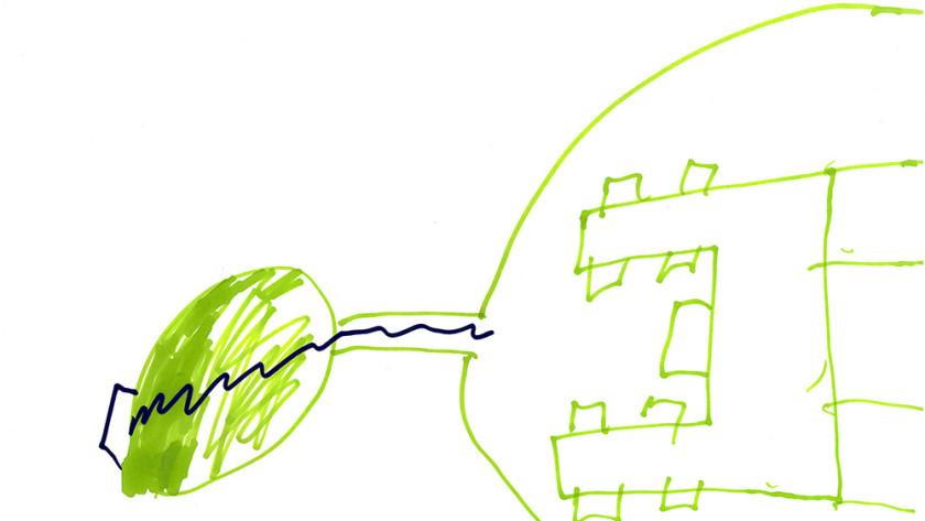 Drab Dream Home Drabbit Island arial view Act 2 18 April 2012